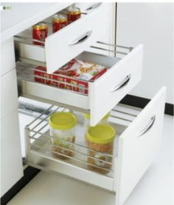 modular kitchen SS basket Delhi